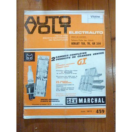 TLR TR GR 250 Revue Technique Electronic Auto Volt Berliet