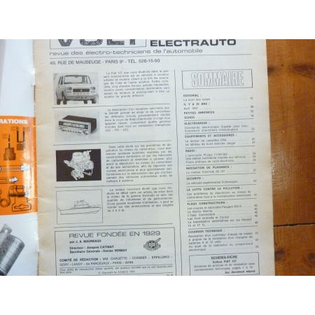 127 Revue Technique Electronic Auto Volt Fiat