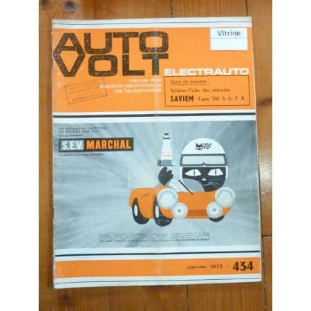 SM 5-6-7-8 Revue Technique Electronic Auto Volt Saviem
