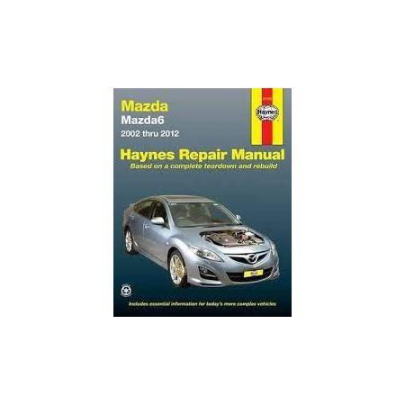 Mazda6 02-12 Revue technique Haynes MAZDA Anglais