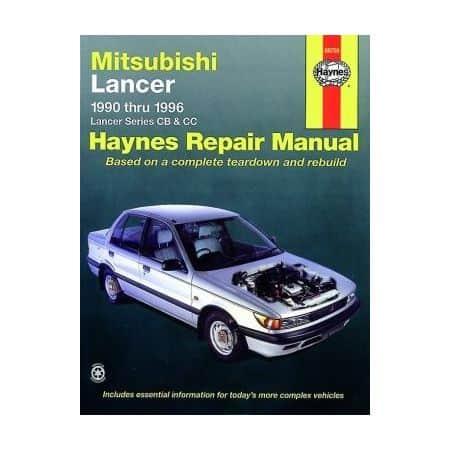 Lancer 90-96 Revue technique Haynes MITSUBISHI Anglais