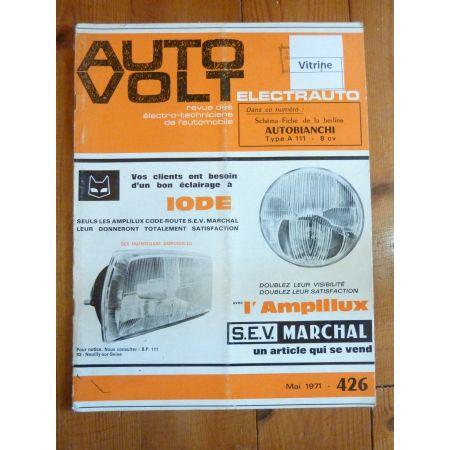 A111 Revue Technique Electronic Auto Volt Autobianchi