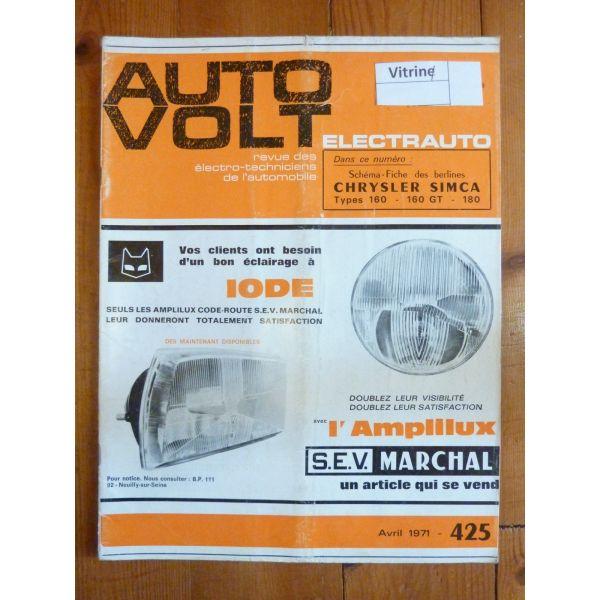160 180 Revue Technique Electronic Auto Volt Chrysler