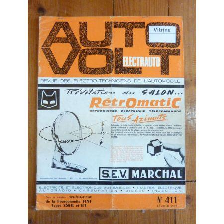 238 B-B1 Revue Technique Electronic Auto Volt Fiat