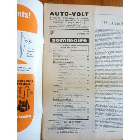 128 Revue Technique Electronic Auto Volt Fiat