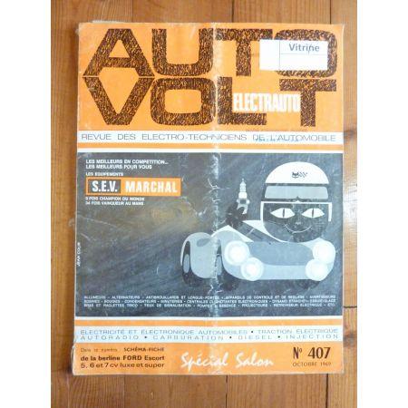 Escort 5-7cv Revue Technique Electronic Auto Volt Ford