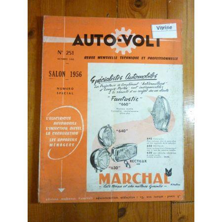 Vedette 57 Revue Technique Electronic Auto Volt Talbot Simca