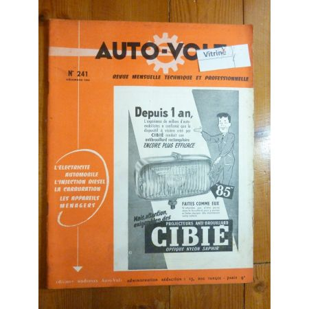 1956 Revue Technique Electronic Auto Volt ISETTA-VELAM