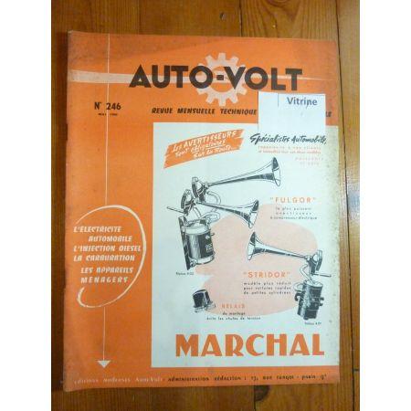 Dauphine Revue Technique Electronic Auto Volt Renault
