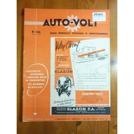600 Revue Technique Electronic Auto Volt Fiat