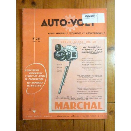 Dyna VLL Revue Technique Electronic Auto Volt Panhard