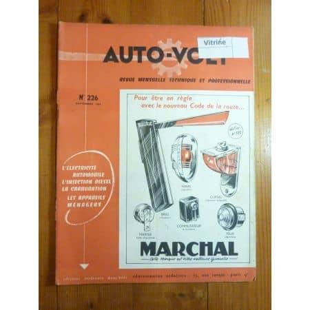 3042 Ess. Revue Technique Electronic Auto Volt Renault