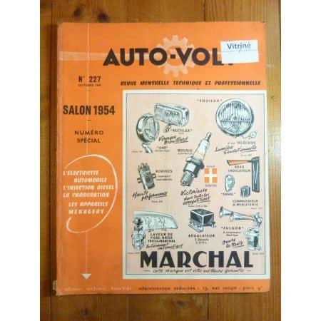 202 Revue Technique Electronic Auto Volt Peugeot