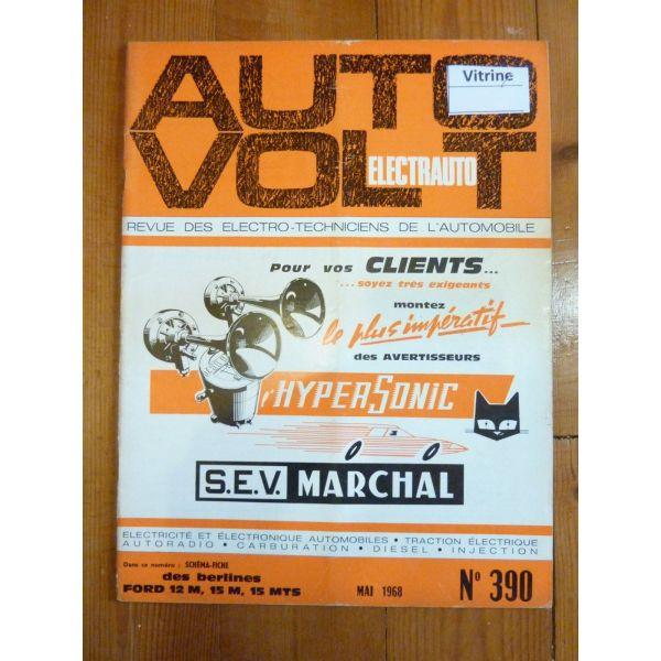 12M 15M 15MTS Revue Technique Electronic Auto Volt Ford