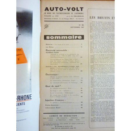 1301 1501 Revue Technique Electronic Auto Volt Talbot Simca