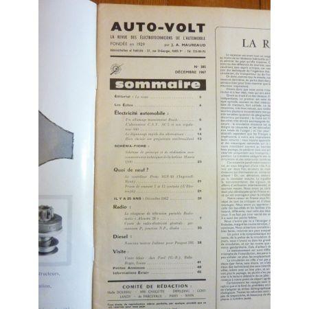 1100 Revue Technique Electronic Auto Volt Austin