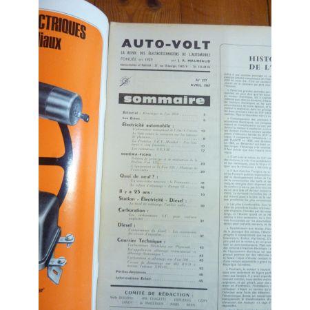 124 Revue Technique Electronic Auto Volt Fiat