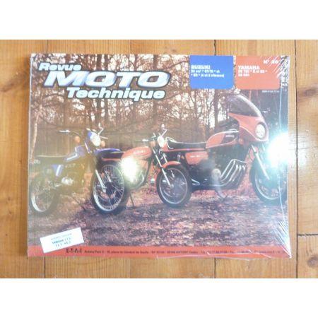 50ER GT XS750 Revue Technique moto Suzuki Yamaha