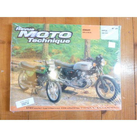 GTS KS50 CBX1000 Revue Technique moto Honda Zundapp