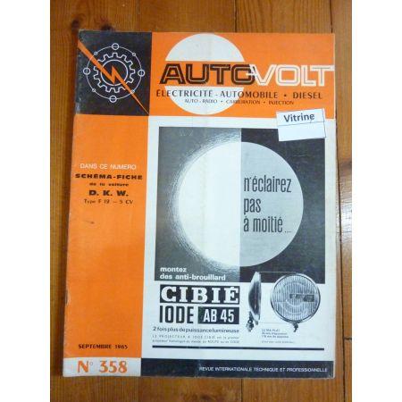 F12 4cv Revue Technique Electronic Auto Volt Dkw