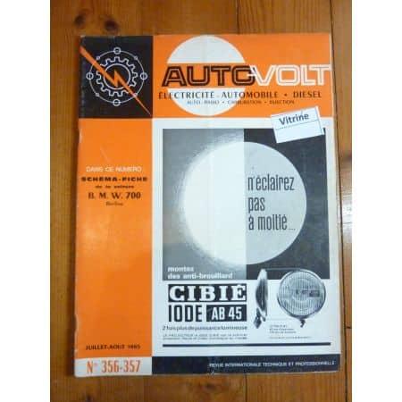 700 Revue Technique Electronic Auto Volt Bmw