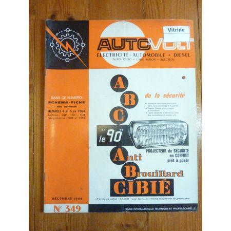 4cv 5cv Revue Technique Electronic Auto Volt Renault