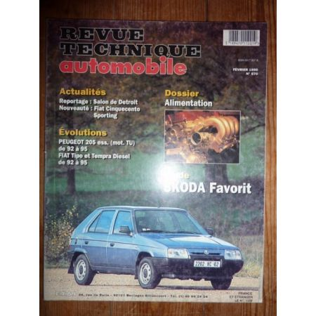 Favorit Revue Technique Skoda