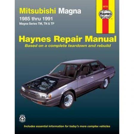 Magna 85-91 Revue technique Haynes MITSUBISHI Anglais