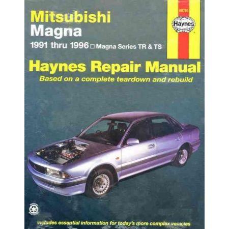 Magna 91-96 Revue technique Haynes MITSUBISHI Anglais