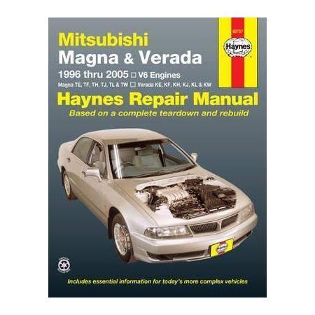 Magna 96-05 Revue technique Haynes MITSUBISHI Anglais