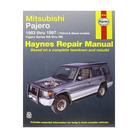 Pajero 83-97 Revue technique Haynes MITSUBISHI Anglais