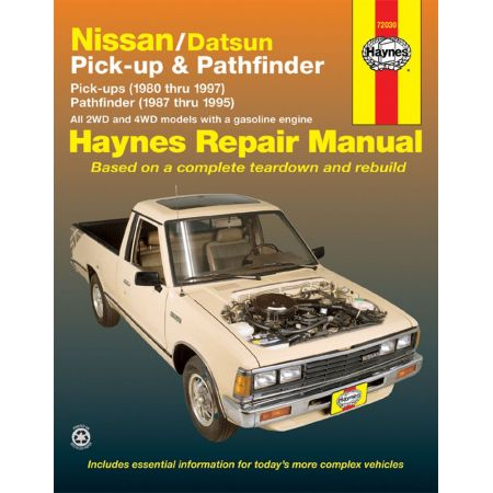 Navara 86-96 & Pathfinder 87-95 Revue technique Haynes NISSAN Anglais