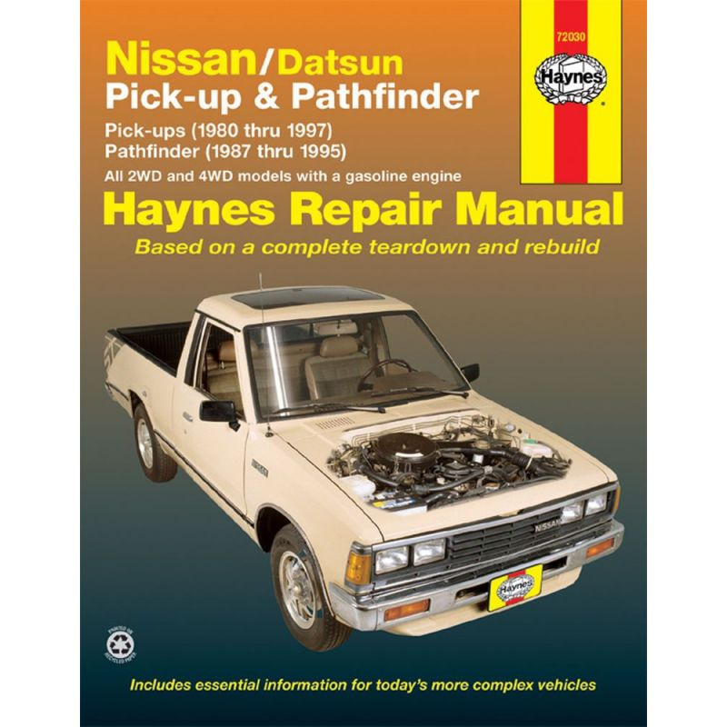 Nissan Navara 1986-1996  U0026 Pathfinder 1987-1995 Rth72730