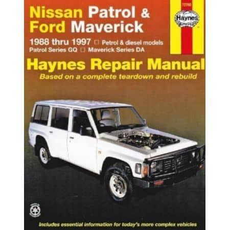 Patrol & Maverick 88-97 Revue technique Haynes FORD NISSAN Anglais