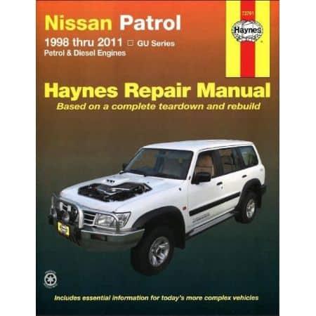 Patrol 98-14 Revue technique Haynes NISSAN Anglais