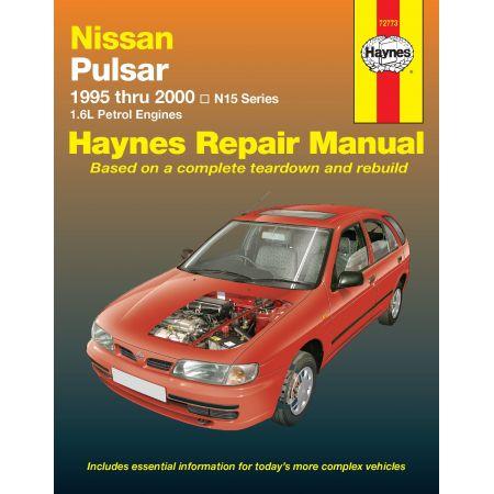 Pulsar 95-00 Revue technique Haynes NISSAN Anglais