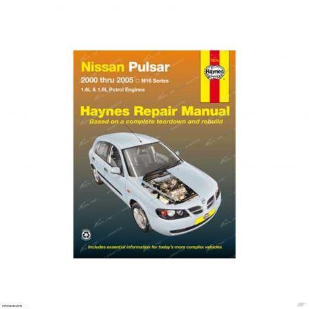 Pulsar 00-05 Revue technique Haynes NISSAN Anglais