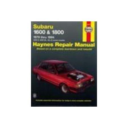 1600 & 1800 79-94 Revue technique Haynes SUBARU Anglais