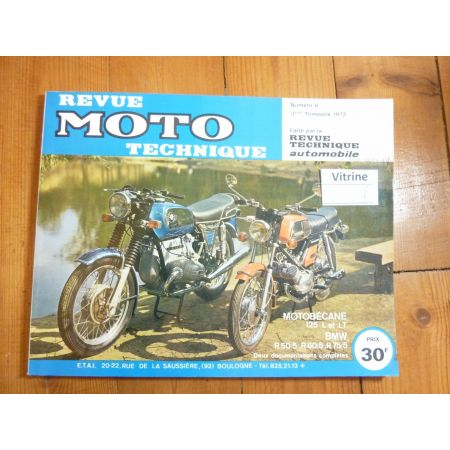 125 LT R50/5 R50/5 R75/5 Revue Technique MOTOBECANE BMW