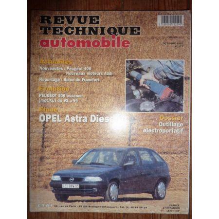 Astra Die Revue Technique Opel