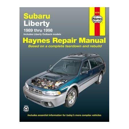 Liberty 89-98 Revue technique Haynes SUBARU Anglais