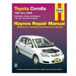 Corolla 97-06 Revue technique Haynes TOYOTA Anglais