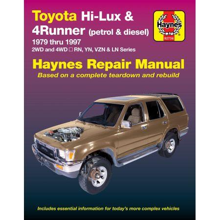 Hi-Lux & 4Runner Diesel 79-97 Revue technique Haynes TOYOTA Anglais