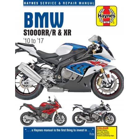 S1000RR/R & XR 10-17 Revue technique Haynes BMW Anglais