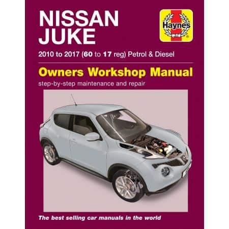 Juke 10-17 Revue technique Haynes NISSAN Anglais