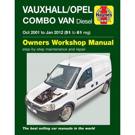 Combo Diesel Van 01-12 Revue technique Haynes OPEL VAUXHALL Anglais