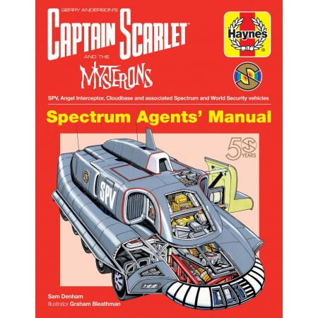 Captain Scarlet and the Mysterons Manual Haynes Anglais
