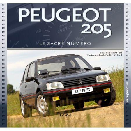 PEUGEOT 205 - Sacré numéro - Livre