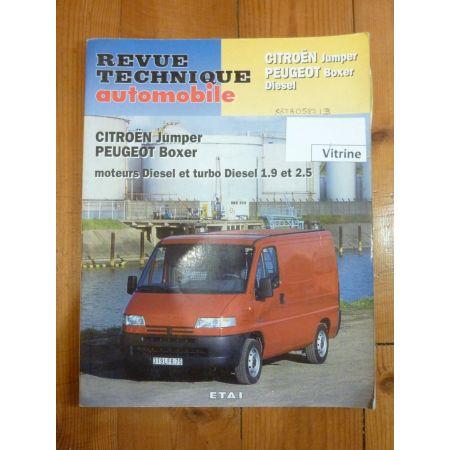 Jumper Boxer Revue Technique Citroen Fiat Peugeot