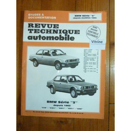 bmw s rie 3 depuis 1983 jusqu 39 1991 4 et 6 cylindres rrta0448 5. Black Bedroom Furniture Sets. Home Design Ideas
